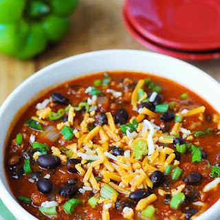 Pumpkin Chili with Beef and Black Beans