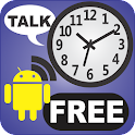 Whistle Talking Clock FREE icon