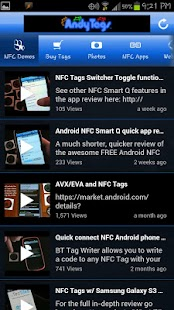 AndyTags NFC Tags - screenshot thumbnail