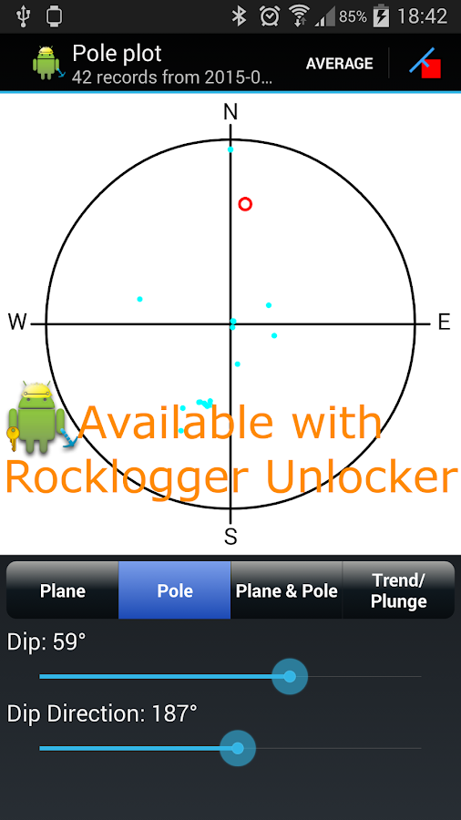 Rocklogger- screenshot