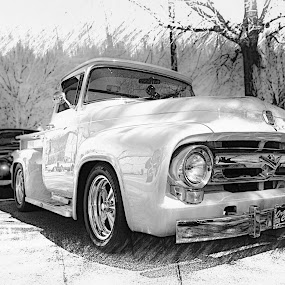 Ford Pickup by RomanDA Photography - Transportation Automobiles ( 2014, cars, spring, cruise-in )
