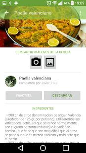 Recetario, recetas de cocina- screenshot thumbnail