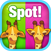 Spot Difference: Animal Safari
