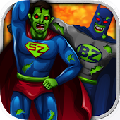 Zombie Superhero game for Kids