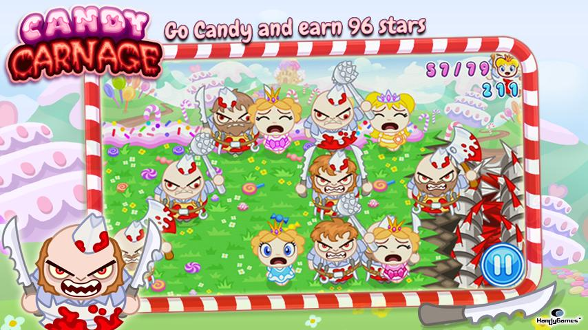 Candy Carnage - screenshot