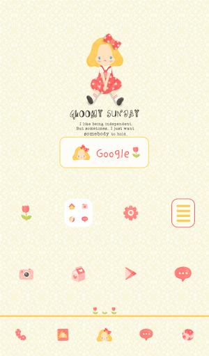 【免費個人化App】gloomy sunday 도돌런처 테마-APP點子
