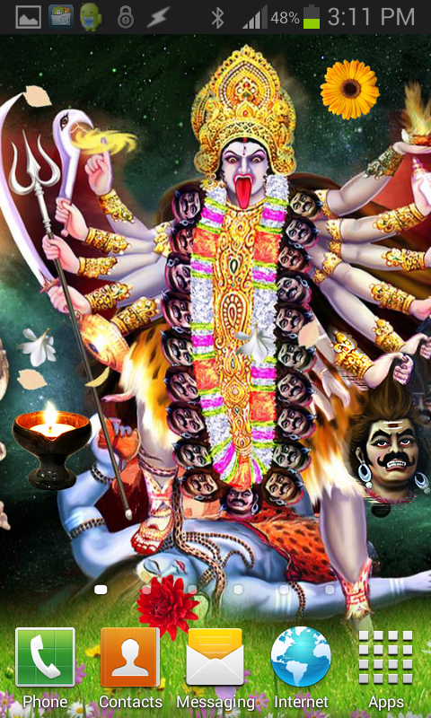 Hanuman ji wallpaper hd google - Jai Maa Kali Hq Live Wallpaper Applications Android Sur