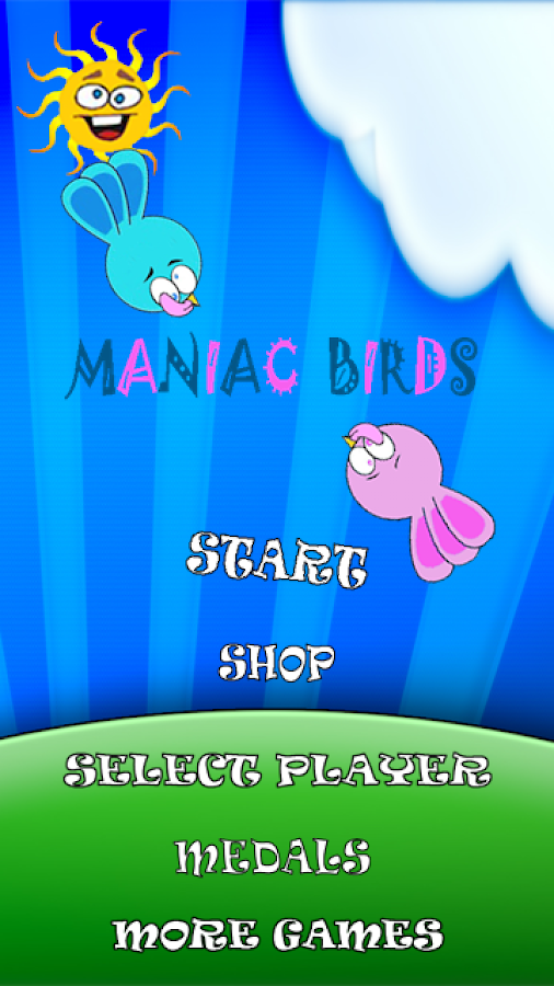 Maniac Birds- screenshot