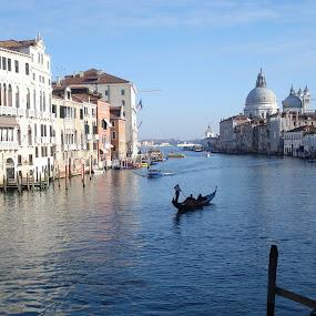 Siempre Venezia! (Venezia, Italy) by Pipia Kanjeva - City,  Street & Park  Historic Districts ( #venezia #venice #italy #canale grande #panorama,  )