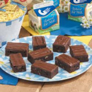 Frosted Cake Brownies.
