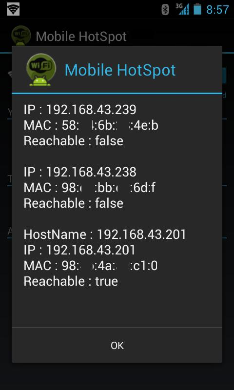 Mobile HotSpot - screenshot