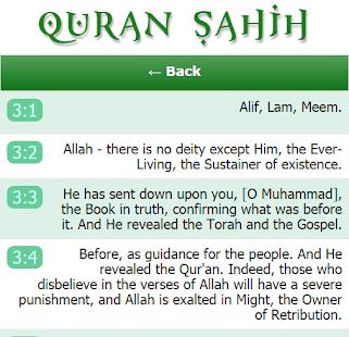 Download Quran Sahih APK