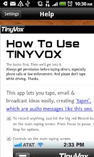 TinyVox · Infinite Tape Deck - screenshot thumbnail