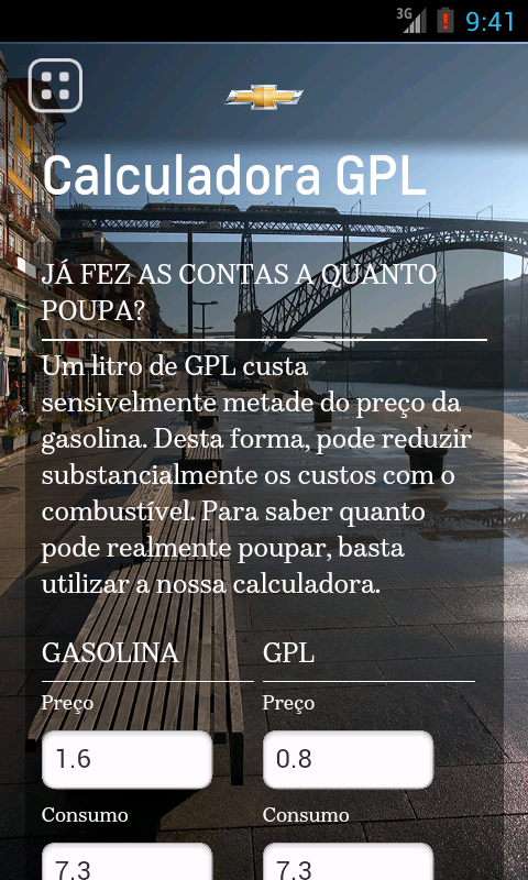 Chevrolet GPL- screenshot