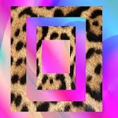 Go Sms theme Cheetah Swirl