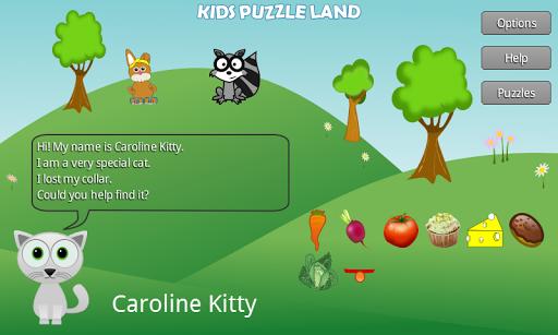 Kids Puzzle Land Free