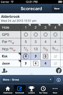 Alderbrook Golf Club - screenshot thumbnail