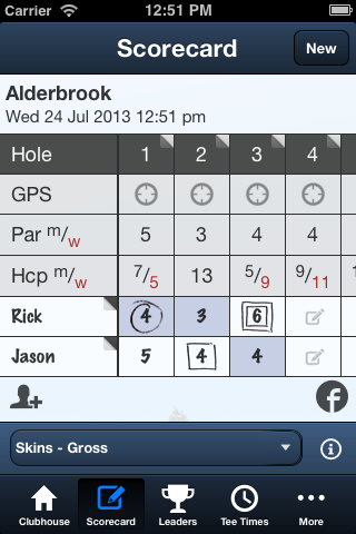 Alderbrook Golf Club - screenshot