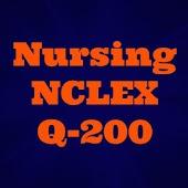NCLEX Q-200 Nursing Q bank