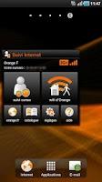 Screenshot of Suivi Internet pour tablette