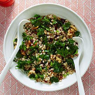 Cran-Nut Barley Salad