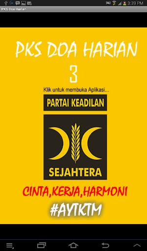 PKS Doa Harian