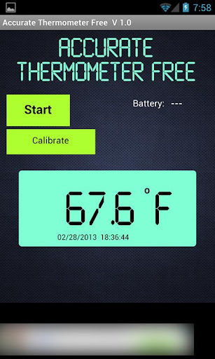 Accurate Thermometer Free
