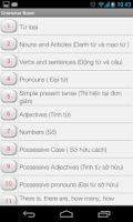 Screenshot of Ngữ Pháp Tiếng Anh Cơ Bản