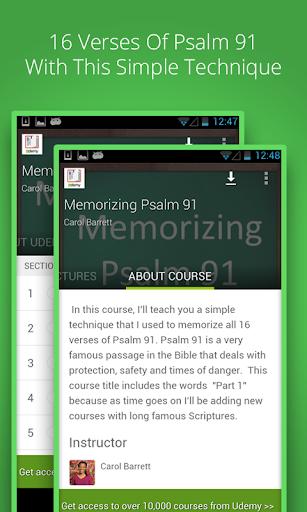 Memorize Psalm 91