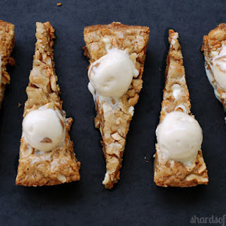 Brown Butter Cashew Butterscotch Blondies
