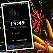 GO Locker Fireworks Theme