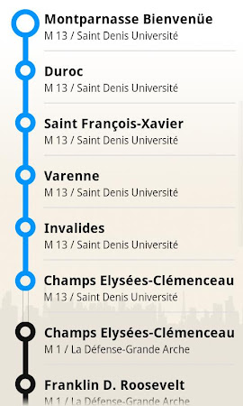 Paris metro subway guide 2.2.9 screenshot 387299