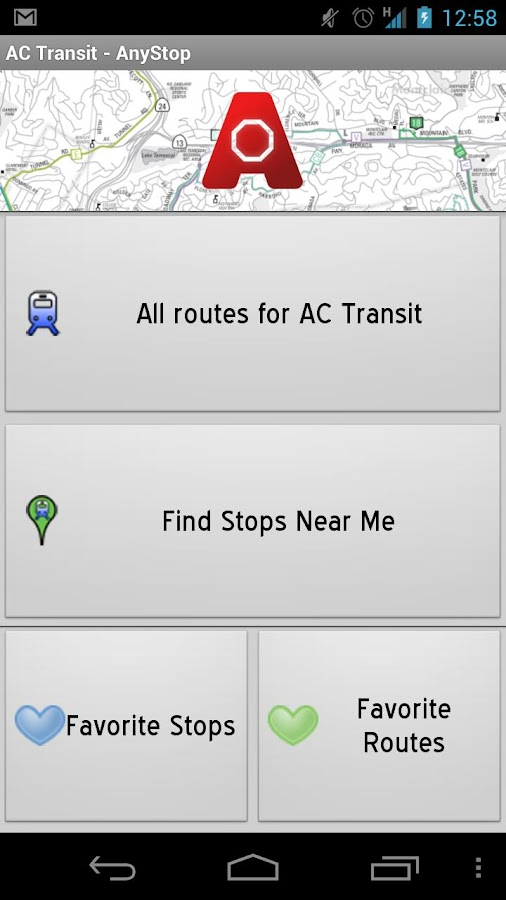 AC Transit: AnyStop- screenshot