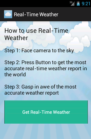 Accurate Real-Time Weather