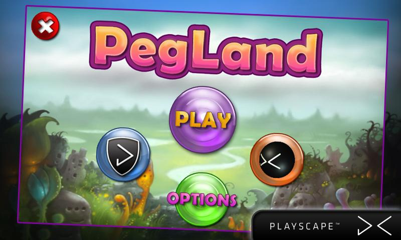 Pegland- screenshot