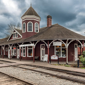 Snoqualmie Depot  by George Herbert - Buildings & Architecture Other Exteriors