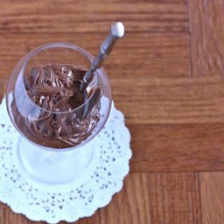 Vegan Chocolate Pudding.