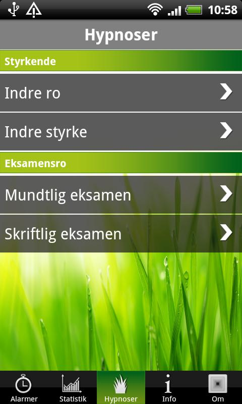 Eksamensro - screenshot