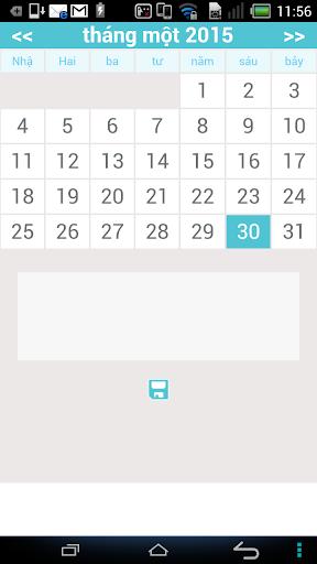 Calendar viewer
