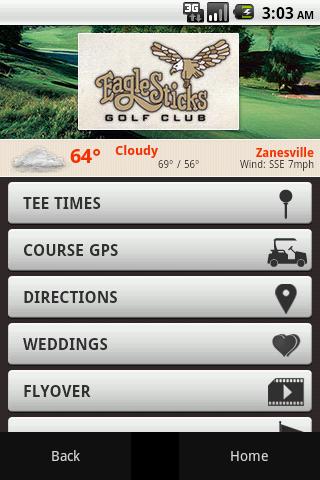 Eagle Sticks Golf Club