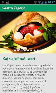 Gastro Zagorje- screenshot thumbnail