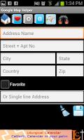 Screenshot of GPS - Google Map Helper