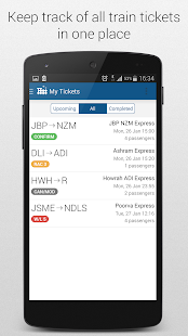 Indian Railway App PNR Status- screenshot thumbnail
