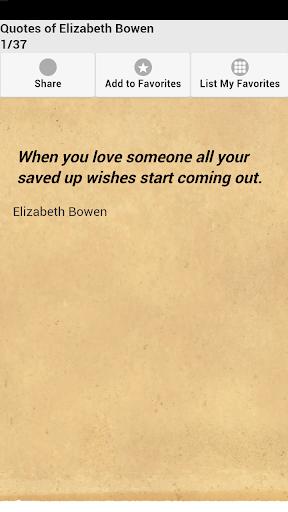 Quotes of Elizabeth Bowen