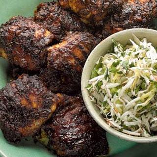 Jerk-Spiced Chicken with Fresh Coconut Salsa Recipe