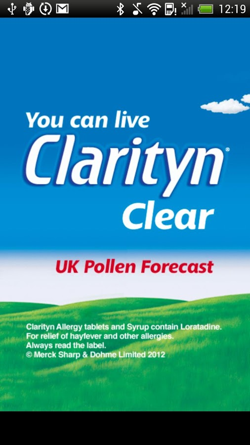 Pollen Forecast UK - screenshot