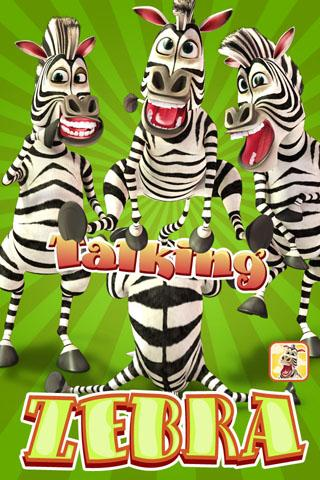 Talking Zebra - screenshot