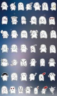 GO短信加強版豆小腐表情貼圖