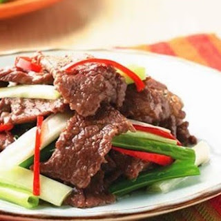 Beef with Scallions