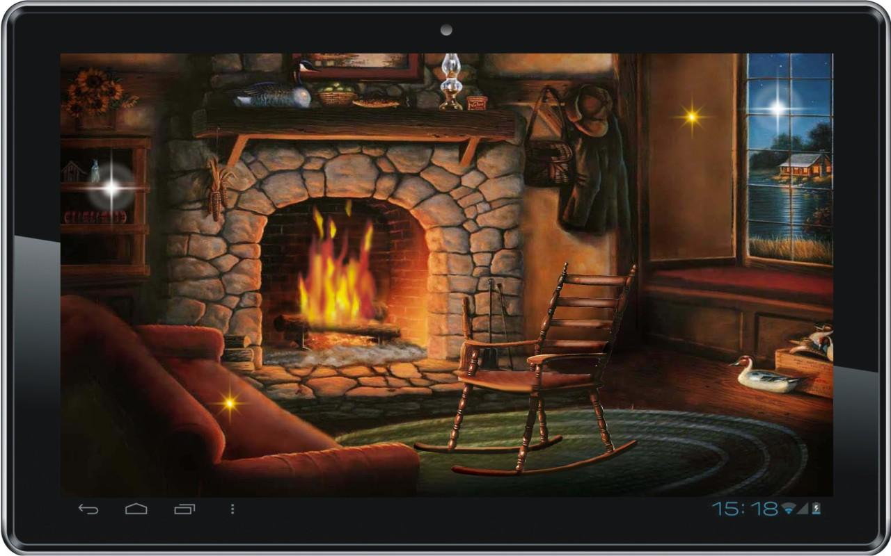 The Gallery For Gt Christmas Fireplace Backdrops